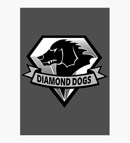 Diamond Dogs - 2015 Edition  (MGSV) Photographic Print