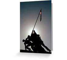~Iwo Jima Memorial~ Greeting Card