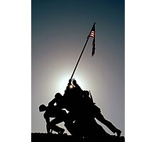 ~Iwo Jima Memorial~ Photographic Print