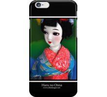 Haru no Onna (Spring Maiden) iPhone Case/Skin