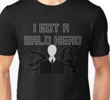 Slender Man Got A Bald Head Unisex T-Shirt