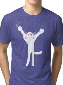 KLINGON KAT White T SHIRT  Tri-blend T-Shirt