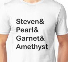 The Crystal Gems (Black) Unisex T-Shirt