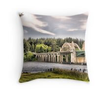 Oregon Bridge Throw Pillow