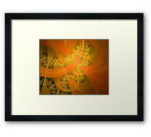 The Yellow Brick Road Framed Print