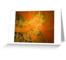 The Yellow Brick Road Greeting Card