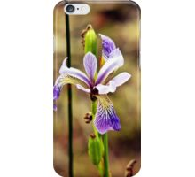 Wildflower by the Lake iPhone Case/Skin