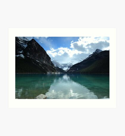 Tranquil afternoon at the lake Art Print