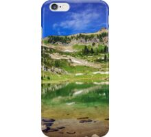 Mountain Lake Pano iPhone Case/Skin