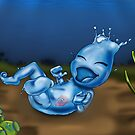 Element: Agua Baby by treasured-gift