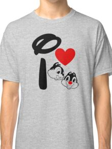I Heart Chip 'n' Dale Classic T-Shirt