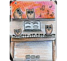 Piano Owls iPad Case/Skin