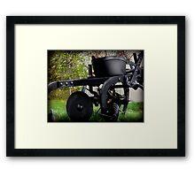 Old Planter Framed Print