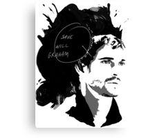 Save Will Graham Canvas Print