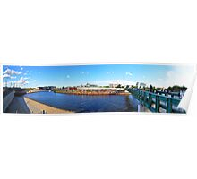 Capital Beach Panorama Poster
