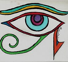 Eye of Horus by ClaireDecker