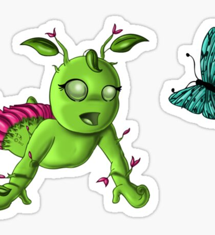 Element: Tierra Baby Sticker