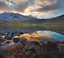 Scafel pike at dawn by Shaun Whiteman