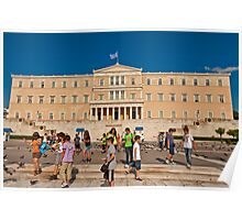 Hellenic Parliament, Athens, Greece Poster