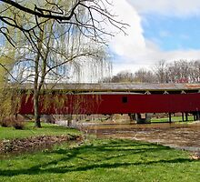 Bogert Covered Bridge - Allentown Pa. by DJ Florek