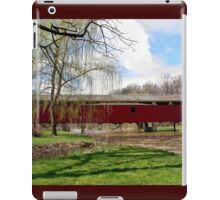 Bogert Covered Bridge - Allentown Pa. iPad Case/Skin