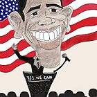 Obama Caricature by Jessie23