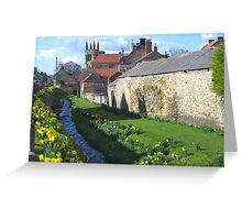Helmsley, West Yorkshire, England Greeting Card