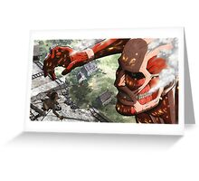 Attack on Titan Greeting Card