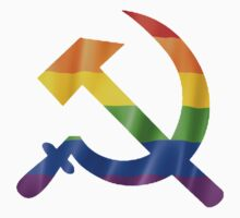 Pride Hammer and Sickle T Shirts, Stickers and Other Gifts Kids Clothes