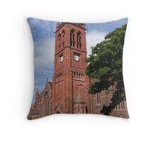 St Paul's church Widnes Throw Pillow