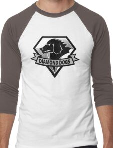 Diamond Dogs - 2015 Edition  (MGSV) Men's Baseball ¾ T-Shirt