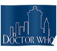 Doctor Who x Frasier mashup – The Doctor, Frasier Crane, Whovian Poster