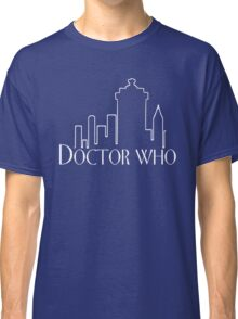 Doctor Who x Frasier mashup – The Doctor, Frasier Crane, Whovian Classic T-Shirt