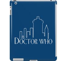 Doctor Who x Frasier mashup – The Doctor, Frasier Crane, Whovian iPad Case/Skin