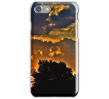 Sunset in Denver iPhone Case/Skin