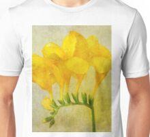 Vintage Yellow Freesia T-Shirt