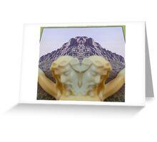 Thumb Butte Prescott, AZ Greeting Card
