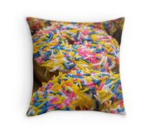 Mmm... Sprinkles Throw Pillow