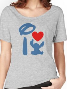I Heart Stitch (Inverted) Women's Relaxed Fit T-Shirt