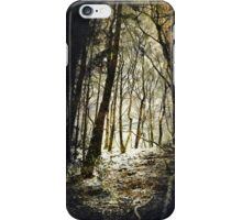 Forest Fireflies iPhone Case/Skin