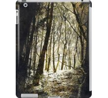 Forest Fireflies iPad Case/Skin