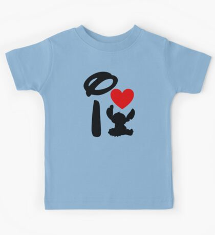 I Heart Stitch Kids Tee