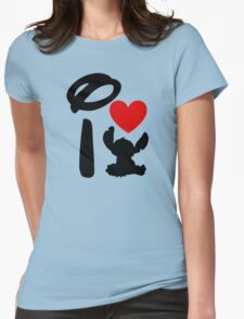 I Heart Stitch Womens Fitted T-Shirt