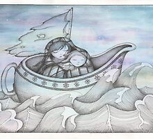 Lost At Sea by LuxEtoile