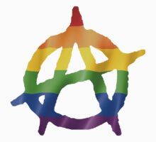 Anarchy Pride Logo T Shirts, Stickers and Other Gifts Kids Clothes