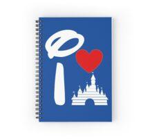 I Heart Sleeping Beauty (light) Spiral Notebook