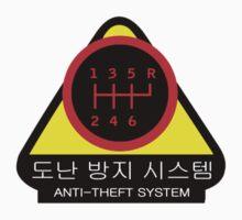 KDM - Anti-Theft System (Pattern 4) (dark) Kids Tee
