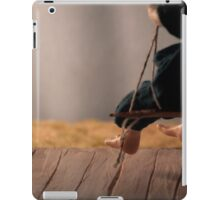 Dry Summers - dollhouse scale porch scene iPad Case/Skin