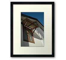 window Framed Print