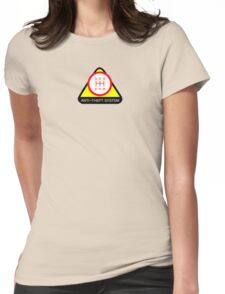 Anti-Theft System (Pattern 1) (light) Womens Fitted T-Shirt